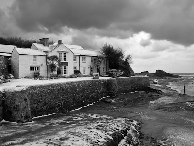 Efford Cottage ; Canal, Bude, Cornwall, UK